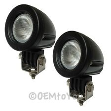 High Intensity 10W Spot Pencil Cree LED Driving Lamp Car ATV UTV RZR - 2 Lights