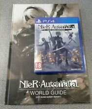 Nier: Automata PS4 + World Guide Hard book - Preowned - Fast Dispatch