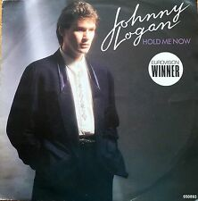 "Eurovision IRELAND 1987 JOHNNY LOGAN Hold Me Now DUTCH RELEASE  7"" single"