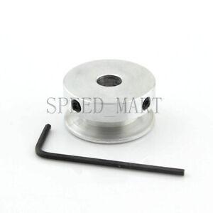 V Groove Pulley Bore 4-16mm OD 30mm for 6mm O Shape PU Belt Round Belt DIY