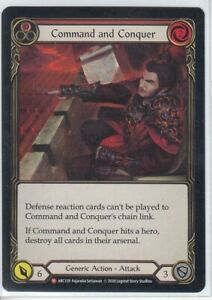 Command and Conquer Flesh and Blood TCG ARC159 Arcane Rising Unlimited Majestic