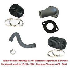 Faltenbalg Set Volvo Penta Antrieb 290/290A/DP/SP/DPA/DPA1 Z-Antrieb Sterndrive