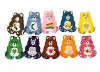 "Vintage Care Bears Felt Bears Homemade 5"" Rainbow Care A Lot Funshine Lot Of 10"