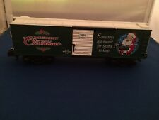 American Flyer 48355 2004 Christmas Boxcar New in Box S Gauge