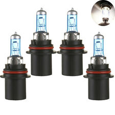 4PCS 9004 12V 100W 6000K Super Bright White Halogen Light Bulbs Car