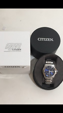 CITIZEN EOC DRIVE BLUE STAINLESS STEEL MEN'S WATCH Model- AW1350-83M