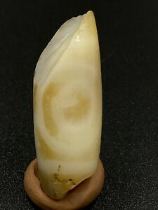 Tibetan Nepalese Himalaya Ancient Old Dzi 1 Eyes Talisman Beads Amulet Antiquity