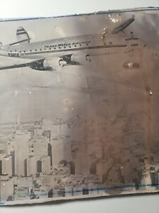 10x13 Vintage TWA Poster PHOTO Trans World Airlines Flys Over San Francisco 50's