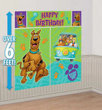 Scooby Doo Party Scene Setter Giant Wall Decoration kit