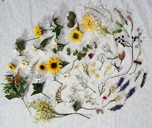 Lot Vintage Craft or Millinery Flowers