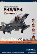 IsraDecal  F-4E/RF-4E/F-4E(s) Phantom 1/32 (Isra Decal IAF-99)