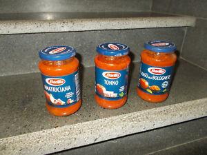 12 Pz sugo sughi Barilla ragù bolognese salsa tonno amatriciana da 400 g misti