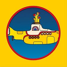 "The Beatles: Yellow Submarine Picture Disc Vinyl 7"" Record (50th Anniversary)"