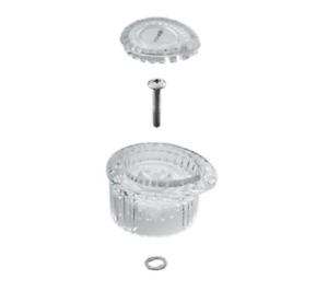 Moen 131474 ClearFlo Acrylic PosiTemp FaucetHandle part#100710 in Clear