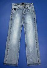 Calvin Klein jeans uomo usato gamba dritta larga W28 tg 42 rilassato flare T564