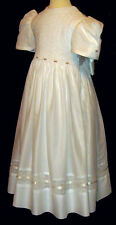 First Communion Dress - Hand Smocked - Chloe - Size 6