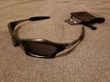 Oakley Splice Matte Black Crystal Black Grey Lenses Very Rare