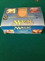 Magic the Gathering MTG Legends EMPTY Display Box English WoTC 1994 Wizards CT-M