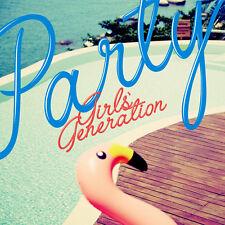SNSD GIRLS' GENERATION [PARTY] 2nd Single Album CD+Photo Book K-POP SEALED