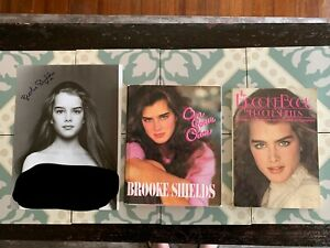 RARE-  Brooke Shields Lot- The Brooke Book - On Your Own- Signed Scavullo Nude