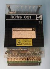 ROSSMANITH GMBH ROfre 891 220V 800VA 50/60Hz 2.1A POWER BOARD 891201