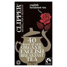 Clipper Fairtrade Organic English Breakfast 40 Tea Bags 125g