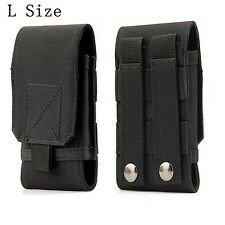 TACTICAL MOLLE SMARTPHONE HOLSTER Universal Army Mobile Phone Belt Pouch Edc Sec