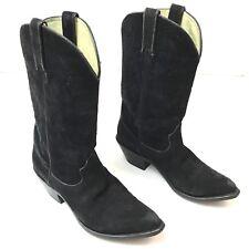 Durango Boots Womens Black Suede 7.5M