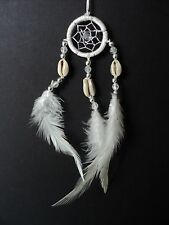 BEAUTIFUL SHELL DREAM CATCHER VARIOUS COLOURS NURSERY BEDROOM NEW DREAMCATCHER