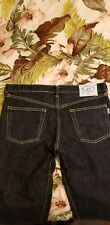 Bill Wall Leather Denim Jean's! Super Rare! Never Worn! He discontinued them!