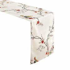 "Lenox Simply Fine Chirp Table Runner 14"" x 70"" Spill Proof Liquid Spills Bead Up"
