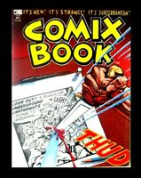 COMIX BOOK #1,1974, ONLY PRINTING, KITCHEN SINK, UNDERGROUND COMIC