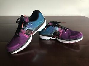 Brooks Pure Cadence Womens Sz 9 Purple Blue Running Jogging Walking Shoes
