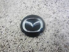 MAZDA 3 5 6 CX-7 CX-9 OEM BLACK WHEEL CENTER CAP BBM2-37190 #7108N