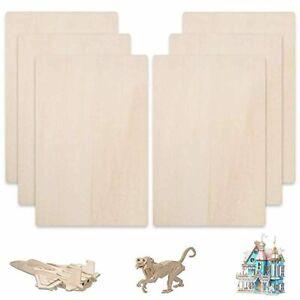 FOGAWA Balsa Wood Sheets 12 x 8 inch Unfinished Unpainted Basswood MDF Thin Hobb