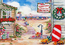 Greetings from the Beach 18 Warm Weather Boxed Christmas Cards