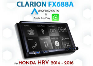 HONDA HRV 2014-2016 / Clarion FX688A CarPlay Android Auto Installation pack