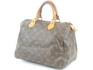 LOUIS VUITTON Speedy 30 Handbag Monogram M41108