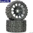 PowerHobby PHT1141S Raptor Belted Monster Truck Wheels/Tires Pr. -Sport Medium C