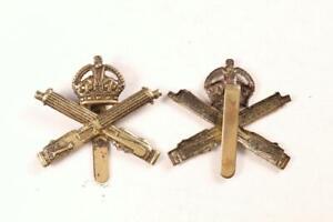 WW1 BRITISH ARMY MILITARY MACHINE GUN CORPS MGC BRASS CAP BADGE FIRST WORLD WAR