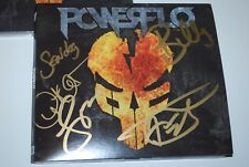 AUTOGRAPHED POWERFLO CD Powerflo With Autographed CD Booklet 6/23 NEW