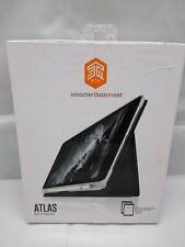 Atlas Fabric Folio Cover Case / Pencil Holder For iPad 5th/6th 9.7/Air 1 & 2
