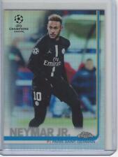 2018-19 Topps Chrome UEFA Refractor #50 Neymar Jr PSG Paris Saint-Germain