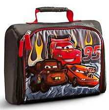 Disney Store Pixar Cars Lightning McQueen Tow Mater Snot Rod Insulated Lunch Bag