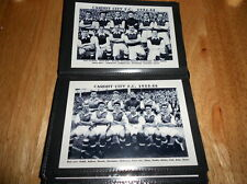 Cardiff City F.C. álbum de fotos (década de 1950)