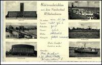 """WILHELMSHAVEN 1957 Mehrbild-AK mit """"Kurz-Nachrichten"""""""