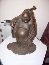 Buddha figurine Old cast iron