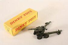 DINKY TOYS 80 E, obusier de 155 a. B.S., Comme neuf Dans Box #ab746