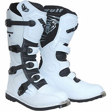 Wulf Track Star Motocross Boots Off Road Sports Dirt Bike ATV All Sizes