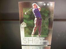 Insert Sergio Garcia Upper Deck SP Authentic 2001 Card #S# SHOT MAKERS Golf